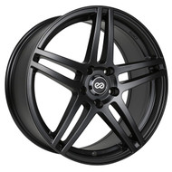 Enkei® RSF5 Wheels Rims 17x7.5 5x105 Black 38 | 479-775-3238BK