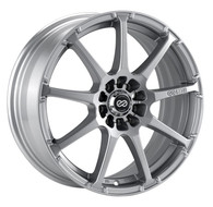 Enkei® EDR9 Wheels Rims 18x7.5 5x100 5x4.5 (5x114.3) Silver 38 | 441-875-0238SP