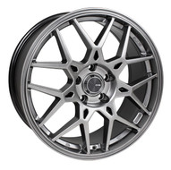 Enkei® PDC Wheels Rims 18x8 5x112 Hyper Gray 45 | 502-880-4445GR