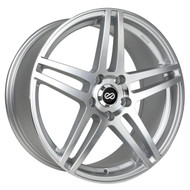 Enkei® RSF5 Wheels Rims 18x8 5x4.5 (5x114.3) Silver Machined 50 | 479-880-6550SM