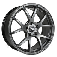 Enkei® M52 Wheels Rims 18x8 5x110 Hyper Black 40 | 480-880-5140HB