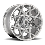 American Truxx® Gridlock AT-1901 Wheels Rims 17x9 8x180 Polished -12  | AT1901-17997P