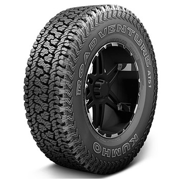 "Kumho ® Road Venture At51 Tire Lt275/65R20 - 10 Ply / ""E"" Series 