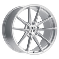 Victor Zuffen Wheel 19x10 5x130 Silver w/ Brushed Face 50MM
