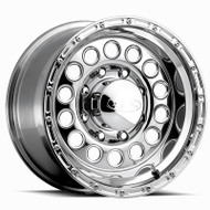 "Raceline ® Rock Crusher Wheel Polished Aluminum 16X8 8X6.5"" ( 8X165.1 ) -20mm 