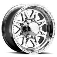 "Raceline ® Renegade 8 Wheel Polished Aluminum 17X9 8X6.5"" ( 8X165.1 ) +6mm 