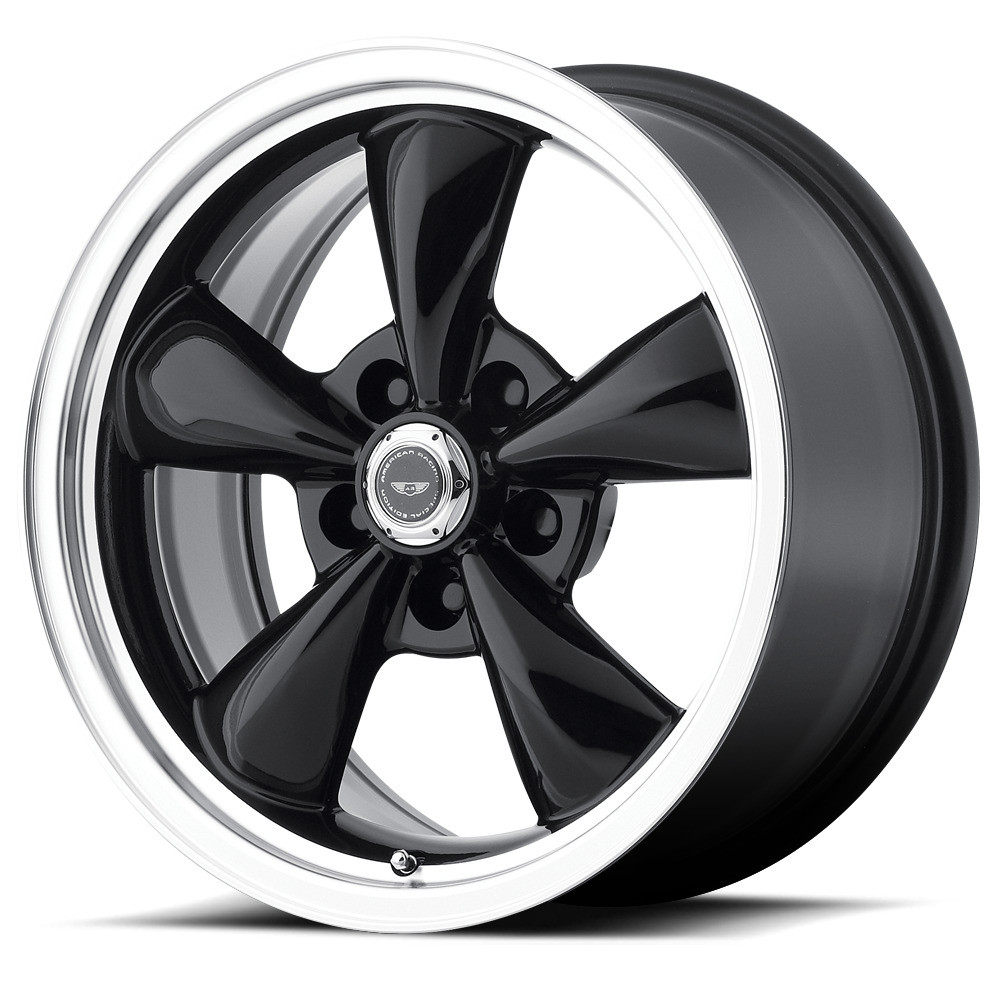 American Racing Torq Thrust M Wheels 17x8 5x475 Black 0mm Ar105m7861b