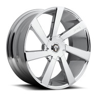 DUB Directa Wheels 22x9.5 6x135 & 6x5.5 (6x139.7) Chrome 30mm | S132229597+30