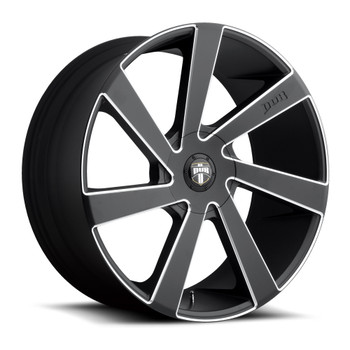 DUB Directa Wheels 22x9.5 5x150 Black 35mm | S133229556+35