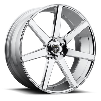 DUB Future Wheels 22x9.5 6x5.5 (6x139.7) Chrome 30mm | S126229577+30