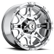 "Raceline Raptor Chrome Wheels 17X9 8X165.1 ( 8X6.5"" )  -12 
