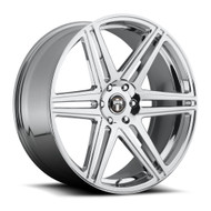 DUB Skillz Wheels 22x9.5 6x5.5 (6x139.7) Chrome 30mm | S122229577+30