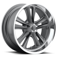 Foose Knuckle Wheels 17x8 5x4.75 (5x120.65) Gun Metal 1mm | F09917806145