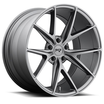 Niche Misano M116 Wheels 18x8 5x4.5 Gun Metal 40mm | M116188065+40