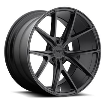 Niche Misano M117 Wheels 18x9.5 5x4.5 (5x114.3) Black 40mm | M117189565+40