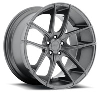 Niche Targa M129 Wheels 18x8 5x4.5 (5x114.3) Gun Metal 40mm | M129188065+40