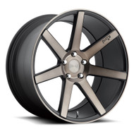 Niche Verona M150 Wheels 17x8 5x100 Black Machine 40mm | M150178080+40