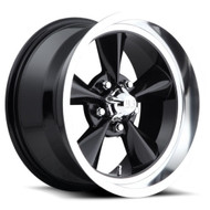 US Mags Standard U107 Wheels 15x8 5x4.75 (5x120.65) Black 1mm | U10715806145