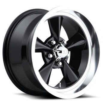 US Mags Standard U107 Wheels 15x8 5x4.5 (5x114.3) Black 1mm | U10715806545