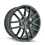 Touren TR60 Wheels 17x7.5 4x108 & 5x108 Gun Metal 42mm | 3260-7720G