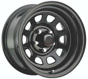 Pro Comp Steel Wheelss Series 51 Wheels 16x8 5x5.5 Black -6mm | 51-6885