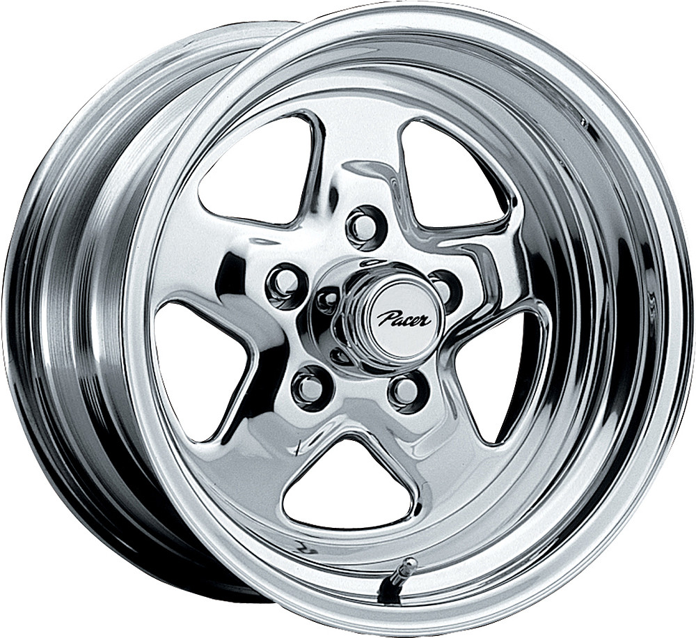 S10 Lug Pattern >> Pacer 521P Dragstar Wheels 15x10 5x127 Polished -44mm ...