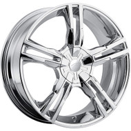 Pacer 786C Ideal Wheels 16x7 5x105 & 5x4.5 Chrome 42mm | 786C-6724