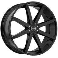 Akuza Zenith Wheel 22x8.5 5x108 & 5x4.5 (5x114.3) Gloss Black 45mm Offset