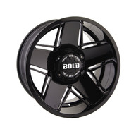 Bold Off Road BD004 Wheel 20x10 5x127 5x135 Black -24mm -FREE LUGS -DISCOUNT IN CART-.