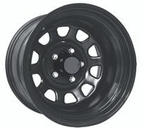 Pro Comp Steel Wheelss Series 51 Wheels 16x8 6x5.5 Black -6mm | 51-6883F