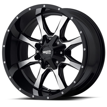 Moto Metal MO970 Wheels 17x8 6x127 & 6x135 Black 40mm | MO97078074340