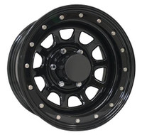 Pro Comp Steel Wheelss Series 252 Wheels 16x10 8x6.5 Black -38mm | 252-6181