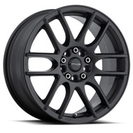 Raceline Mystique Wheels Black 17x7.5 5x112 5x120 40MM | 141B-77591+40