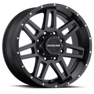 Raceline Injector Wheels Black 17x8.5 6x5.5 (6x139.7) 6x120 18MM | 931B-78572+18