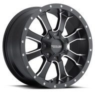 Raceline Mamba Wheels Machine Black 18x9 Blank -12 MM | 927M-89000-12(8P)