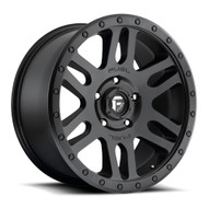 Fuel Recoil Wheels 17x8.5 6x5.5 (6x139.7) Black -6mm | D58417858345