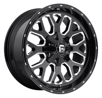 Fuel Titan Wheels 20x9 6x120 Black 7mm | D58820909452