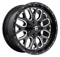 Fuel Titan Wheels 20x9 8x180 Black 20mm | D58820901857