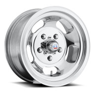 US Mags Indy U101 Wheels 15x8 5x4.75 (5x120.65) Polished -12mm | U10115806140