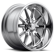 US Mags Rambler U110 Wheels 18x9.5 5x4.5 Chrome 1mm | U11018956552
