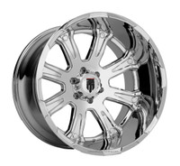 American Truxx The Bomb AT154 20x12 Wheels Chrome 6x135 -44 | AT154-201252C
