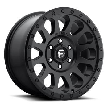Fuel Vector 16x8 Wheels Black 6x5.5 (6x139.7) 20 | D57916808352