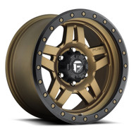 Fuel Anza 20x9 Wheels Bronze 6x5.5 (6x139.7) 0 | D58320908350