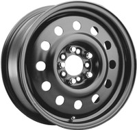 Pacer Mod 83B Wheel 15x6 5x100 & 5x110 Black 41mm Offset