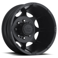 Vision Crazy Eight 715 Dually Wheel 17x6.5 8x6.5 8x165.1 Black Rear -143.35mm
