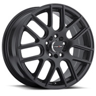 Vision Cross 426 Matte Black Wheels Rims 15x6.5 5x100 5x4.5  38 | 426H5618MB38