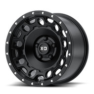 XD Series Holeshot Wheel 17x9 6x5.5 6x139.7 Black -12mm  - FREE LUGS & IN CART DISCOUNT!!