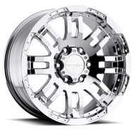 Vision Warrior 375 Chrome Wheels Rims 16x8 8x6.5 (8x165.1)  -6 | 375-6881C-6