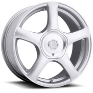 Ultra Winter Alpine 402S Silver Wheels Rims 18x8 5x108 5x4.5  45 | 402-8814+45S