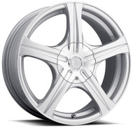 Ultra Winter Slalom 403S Silver Wheels Rims 15x6.5 5x110 5x115 45 | 403-5610+45S
